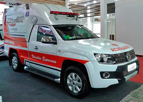 ambulancia amarok