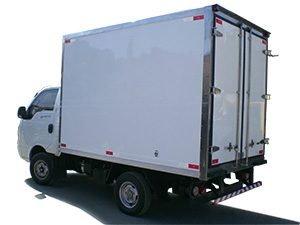 Furgão de Fibra para caminhão