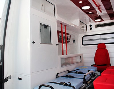 transformadora de ambulancia ford transit