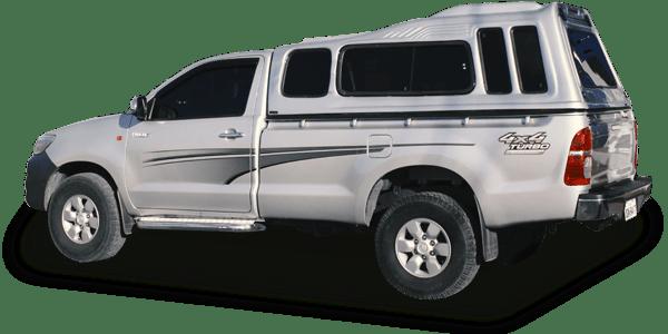 Capota de Fibra para Toyota Hilux