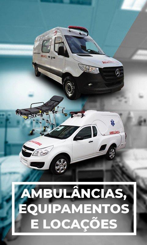 Transformação veiculos ambulancia, venda e comercio de ambulância